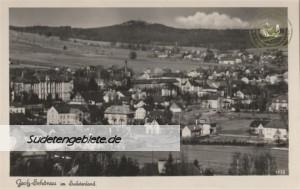 Groß Schönau, Stadt, Landkreis Schluckenau, Sudetengau, Regierungsbezirk Aussig