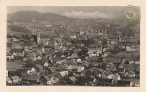 Stadt Nixdorf, Landkreis Schluckenau, Regierungsbezirk Aussig